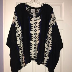 The Sloane Society Poncho
